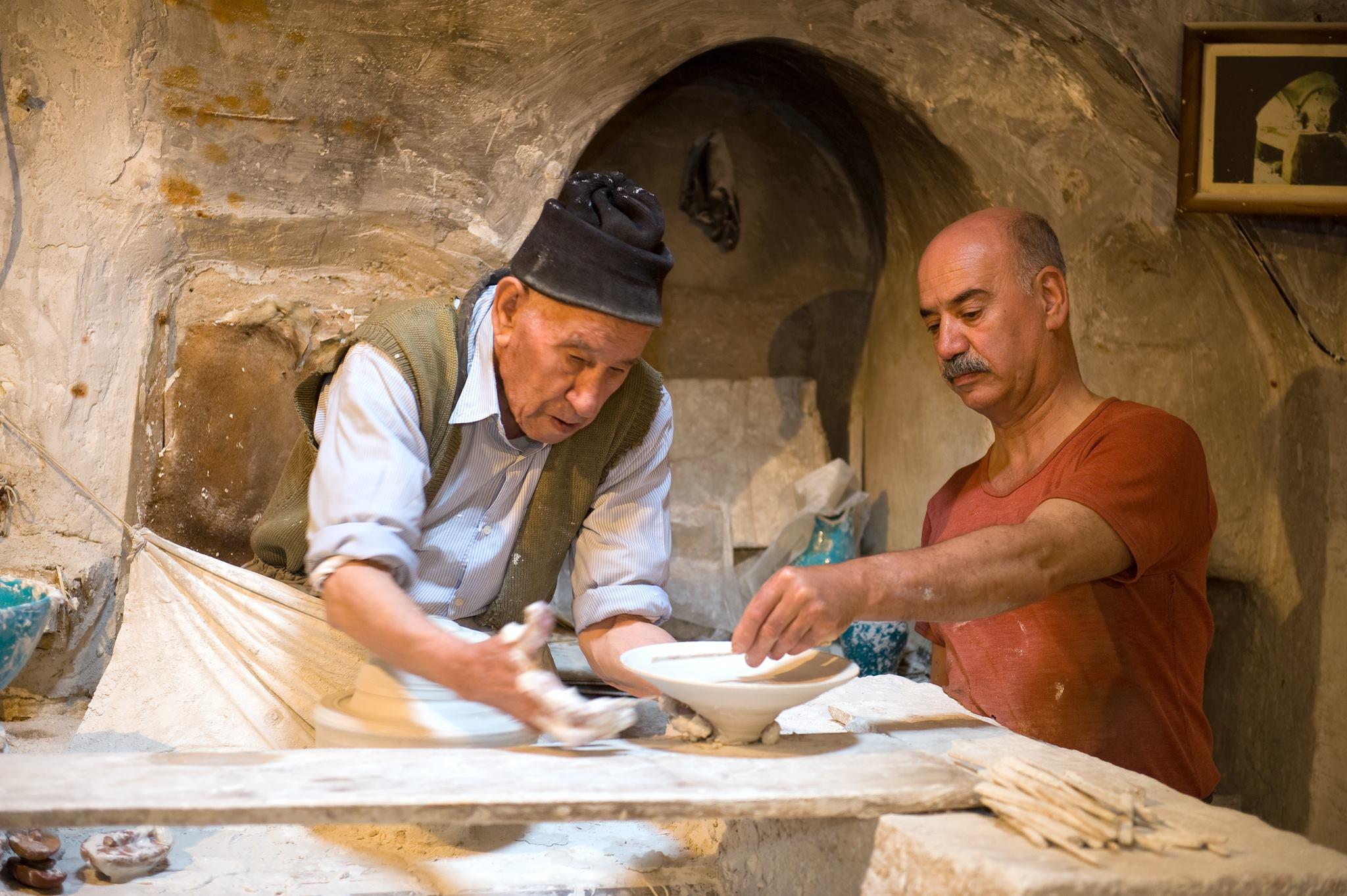 استاد عباس و استاد بیوک قابچی